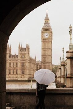 Big Ben and Rain