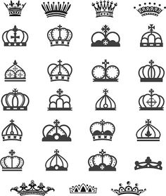 vetor coroa de menina, coroa de menino, png, cdr, ai, svg, eps, psd