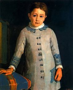 Ferdinand Hodler - Symbolism - Switzerland - Boy Portrait