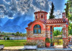 Macedonian Churches - Church at Dion Macedonia Greece - photo by  denis paletskiy
