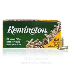 Remington 22 LR Ammo - 525 Rounds of 36 Grain HP Ammunition #Remington #RemingtonAmmo #22LRAmmo #22LR