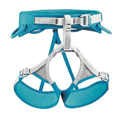 The most comfortable and easy to get on/off climbing harness. If you're a beginner, this is it.