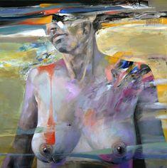 "Saatchi Art Artist sorin dumitrescu mihaesti; Painting, ""Nude N1"" #art"