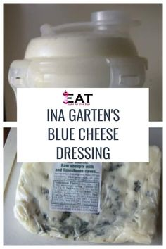 Ina Garten's Blue Cheese Salad Dressing Recipe. Learn how to make a simple blue … Ina Garten's Blue Cheese Salad Blue Cheese Salad, Blue Cheese Dressing, Blue Cheese Vinaigrette, Barefoot Contessa, Cheese Dip Recipes, Homemade Dressing, Salad Dressing Recipes, Soup And Salad, Food Network Recipes