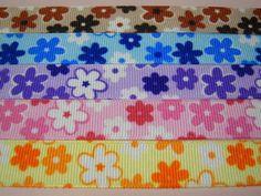 Ribbon 花柄リボン15mm5m ハンドメイド インテリア 雑貨 Handmade ¥200yen 〆05月25日