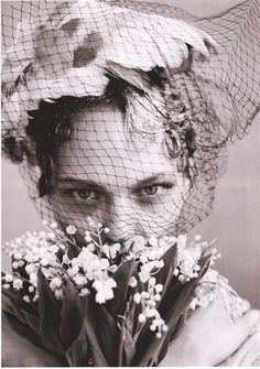 """The Wedding Party"" Sasha Pivovarova, Jessica Stam, Hana Soukupova, Irina Kulikova for Vogue US June 2009 by Arthur Elgort"