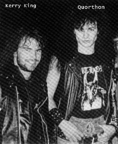 Kerry King & Quorthon  #Slayer #Bathory