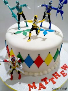 power rangers cake power rangers