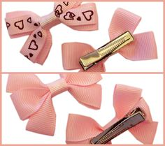 Gorgeous hair bows and accessories for little girls at www.dreambows.co.uk girlsbows, pink bows, hair clips, hair slides, childrens hair bows, bows for sale