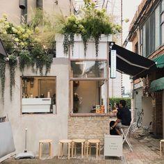 Home Decoration Stores Near Me Key: 3851088153 Small Coffee Shop, Coffee Store, Coffee Cafe, Japanese Coffee Shop, Café Bar, Cafe Shop Design, Store Design, Small Cafe Design, Kiosk Design