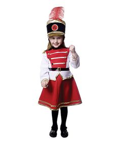 Look at this Red Drum Majorette Dress-Up Set - Toddler & Girls on #zulily today!