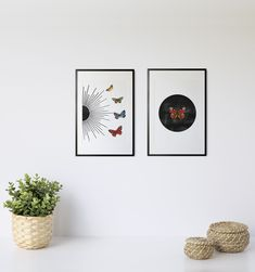Modern Sun and Butterflies by InfiniteMantra. Gallery Set of 2, BohoWall Art, Butterfly Wall Art, Set of 2 Minimalist Poster, Boho Wall Gallery, Modern Decor. A one of a kind piece of art that will bring color and life to bedroom, living room, home office, any room. My art is inspired by dreams, taking you to a magical realm where anything is possible. #walldecor #wallpainting #artwork Contemporary Art Prints, Butterfly Wall Art, Yoga Art, Anything Is Possible, Minimalist Poster, Modern Decor, Butterflies, Art Pieces, My Arts