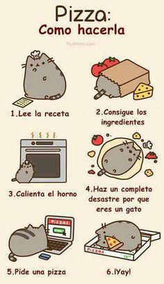 Me encanta este gato! Un otro ejemplo para mandatos. Puedes usar mandatos cuando explicando un recipe de comida.