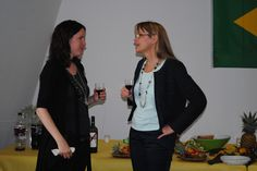 Senior Programer Viviana Vezzani and Ursula Widmer (Warner Bros Switzerland) Zurich, Ursula, Warner Bros, Film Festival, Switzerland, Movie Party