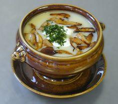 RECIPE: Soup with fried mushrooms # mushroom # fried # soup # cream # cream # mushroom # soup # soup # soup recipes, Soup Recipes Creamy Soup Recipes, Chicken Soup Recipes, Creamed Mushrooms, Stuffed Mushrooms, Fried Mushrooms, Creamy Mushroom Chicken, Mushroom Soup, Denmark Food, Spring Soups