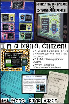 Did you know 93% of companies use social media to hire employees? Our conversations about digital footprint need to start as soon as they get devices. This product helps teachers have the digital citizenship talk with kids.