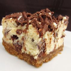 Toblerone Cheesecake Bars - My Honeys Place