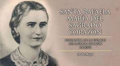 Hoy se celebra a Santa Rafaela María del Sagrado Corazón, religiosa española