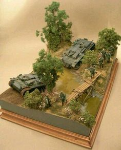 Diorama Militar, Military Action Figures, Water Effect, Model Tanks, Military Modelling, Military Diorama, Stop Motion, Small World, Plastic Models
