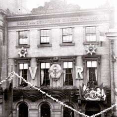 The Bookcafe in a previous life c1890 when Queen Victoria visited Derby.