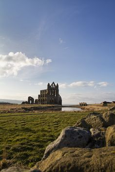 Whitby Abbey, England.