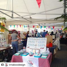 #Repost @innaboxdesign  At the east end design fair today with @urbanmakerseast & @eastendprints #craftfair #designfair #handmade #crafts #shopsmall #shopindependent