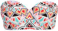 Billabong Tiles & Tides Swimwear Top