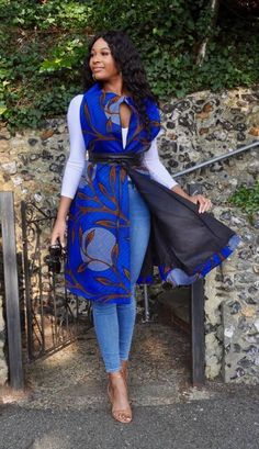 African Inspired Fashion, Latest African Fashion Dresses, African Dresses For Women, African Print Fashion, African Attire, African Clothes, Ankara Fashion, Africa Fashion, African Women