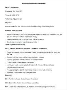 7 Best Sample Resume Format images in 2016   Sample resume format ...