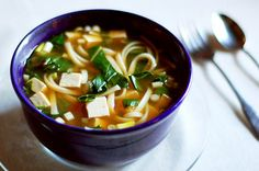 Weeknight Dinner:  Quick Udon Noodle Soup http://www.thekitchn.com/weeknight-dinner-quick-udon-no-100365