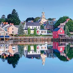 Lovely Portsmouth, New Hampshire.