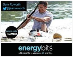"SAM ROWORTH: Sam is a Canadian National Team sprint kayak athlete on his way to Rio 2016! ""ENERGYbits allows me to increase my work capacity in my training through the nutritional benefits and improved oxygen levels in my blood. I feel confident in using ENERGYbits that I am not ingesting harmful chemicals or banned substances. I love that I don't get the post stomach ache when I take them! I always have a tin of with me for an extra boost during the day too."""
