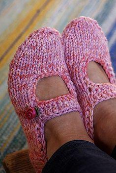 Slipper Knitting Patterns