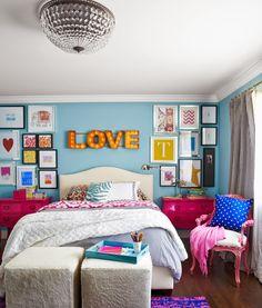 Ideas para ponerle color al Dormitorio
