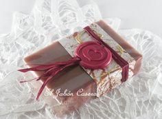Jabón de Vino Tinto para boda