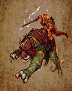 HeMan and BattleCat by Ypslon 90s Cartoons, Animated Cartoons, Cartoon Movies, Cartoon Art, He Man Desenho, He Man Thundercats, Badass Drawings, Character Art, Character Design