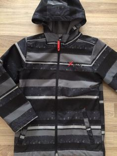 Full-Zip Hooded Jacket (Boys Size 7-8)