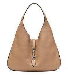 Gucci Jackie Grand Prix Soft Pebbled Classic Camel Leather Hobo Bag 362968 d70dafb87b4f6