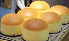 Japanese Cheesecake, Chiffon Cake, Sponge Cake, Ham, Cake Recipes, Muffin, Good Food, Food And Drink, Cooking Recipes