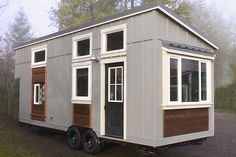 """Handcrafted Movement's eagerly awaited* new build is finished and for sale as of a couple of days ago. It's called the Urban Craftsman and it's a 290-square-foot """"luxury tiny home"""" on a 26-foot trailer. Luxury, of course, doesn't often come cheap, and the current asking price is a formidable $87,000 – but before you write... View Article"""