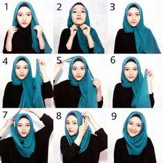 Tampil Elegan dengan Cara Memakai Hijab Modern untuk Long Dress Yang Gak Bikin Ribet    Tampil Elegan dengan Cara Memakai J