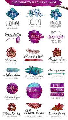 The Watercolor Branding Kit on Behance