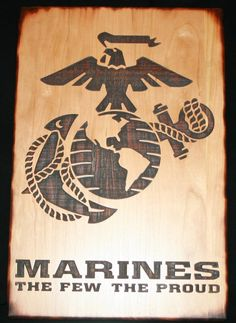 Marines the Few the Proud Cutting Board - Personalized Cutting Board for a Military Gift, Home Decor, Kitchen Decor, Housewarming Gift by TopChopButcherBlock on Etsy