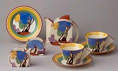 Clarice Cliff, Tea For Two.