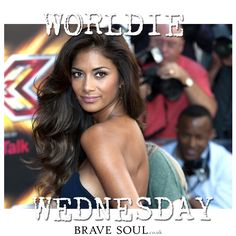 The one and only reason we watch Xfactor at the weekend @Nicole Scherzinger ... Do you agree? #WorldieWednesday