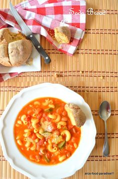 Vegetable Minestrone Soup, my favorite soup!
