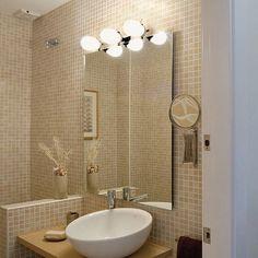 #Аксессуары  для ванной комнаты - важная составляющая дизайна. Правильное освещение для ванной комнаты очень важно, поэтому, еще во время ремонта и отделки, серьезно задумайтесь о его организации. Это может быть потолочное #освещение ванной, настенное освещение, комбинированное, использование декоративных элементов с подсветкой и так далее. Например, можно повесить в ванной #светильники, позволяющие регулировать интенсивность света…