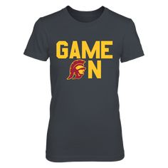"""GAME ON - USC TROJANS T-Shirt, USC TROJANS OFFICIAL APPAREL Limited Edition - Not Sold In Stores Check your size by clicking on """"Buy It Now"""". 100% Designed & Printed in the USA!  The USC Trojans Collection, OFFICIAL MERCHANDISE  Available Products:          District Women's Premium T-Shirt - $29.95 District Men's Premium T-Shirt - $27.95 Next Level Women's Premium Racerback Tank - $29.95 Pack of 4 stickers - $10.00       . Buy now => http://brisktopia.com/6XVJ"""