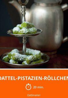 Dattel-Pistazien-Röllchen