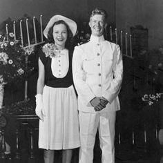 "39th President    James Earl ""Jimmy"" Carter & Rosalynn Smith    July 7, 1946"